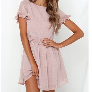 Hello Molly Pink Dress
